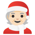 Mx Claus: Light Skin Tone on Google Android 12.0