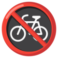 No Bicycles on Google Android 12.0