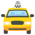 Oncoming Taxi on Google Android 12.0