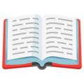 Open Book on Google Android 12.0