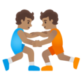 Wrestlers, Type-4 on Google Android 12.0