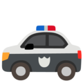 Police Car on Google Android 12.0