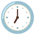 Seven O'Clock on Google Android 12.0