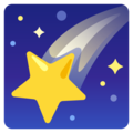 Shooting Star on Google Android 12.0