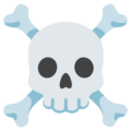 Skull and Crossbones on Google Android 12.0