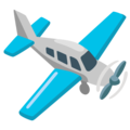 Small Airplane on Google Android 12.0