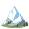Snow-Capped Mountain on Google Android 12.0