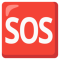 SOS Button on Google Android 12.0