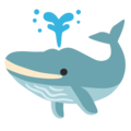 Spouting Whale on Google Android 12.0