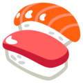 Sushi on Google Android 12.0