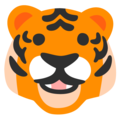 Tiger Face on Google Android 12.0