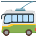Trolleybus on Google Android 12.0