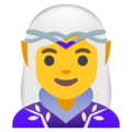 Woman Elf on Google Android 12.0
