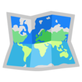 World Map on Google Android 12.0