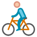 Person Biking on HTC Sense 7