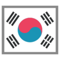 Flag: South Korea on HTC Sense 7