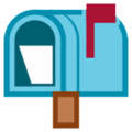 Open Mailbox with Raised Flag on HTC Sense 7
