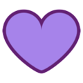 Purple Heart on HTC Sense 7