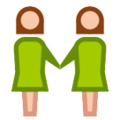 Two Women Holding Hands on HTC Sense 7