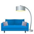 Couch and Lamp on JoyPixels 5.5