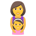 mother daughter emoji