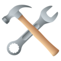 Hammer and Wrench on JoyPixels 5.5