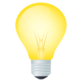 Light Bulb on JoyPixels 5.5