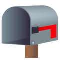 Open Mailbox with Lowered Flag on JoyPixels 5.5