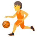 Person Bouncing Ball on JoyPixels 5.5