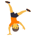Person Cartwheeling on JoyPixels 5.5