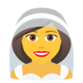 Person With Veil on JoyPixels 5.5