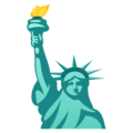 Statue of Liberty on JoyPixels 5.5