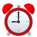 Alarm Clock on JoyPixels 6.0