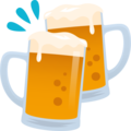Clinking Beer Mugs on JoyPixels 6.0