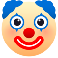 Clown Face on JoyPixels 6.0
