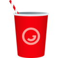 Cup with Straw on JoyPixels 6.0