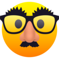 Disguised Face on JoyPixels 6.0
