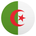 Flag: Algeria on JoyPixels 6.0