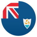 Flag: Anguilla on JoyPixels 6.0