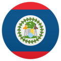 Flag: Belize on JoyPixels 6.0
