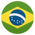 Flag: Brazil on JoyPixels 6.0