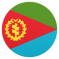 Flag: Eritrea on JoyPixels 6.0