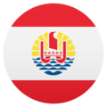 Flag: French Polynesia on JoyPixels 6.0