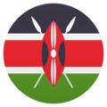 Flag: Kenya on JoyPixels 6.0