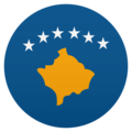Flag: Kosovo on JoyPixels 6.0