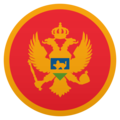 Flag: Montenegro on JoyPixels 6.0