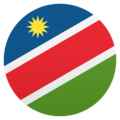 Flag: Namibia on JoyPixels 6.0