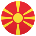 Flag: North Macedonia on JoyPixels 6.0