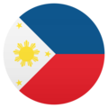Flag: Philippines on JoyPixels 6.0