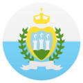 Flag: San Marino on JoyPixels 6.0